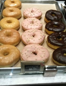 Pretty Vanilla Iced Donut