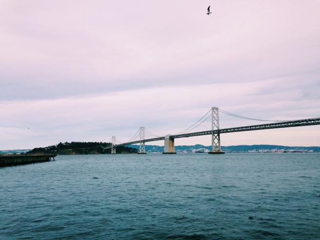 View of the Bay Bridge